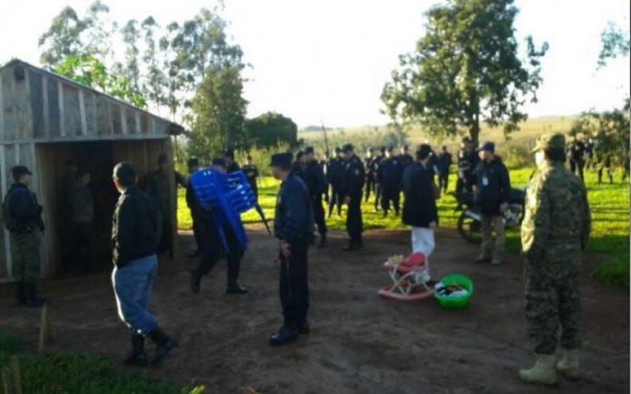 Policía no permitirá otra invasión en Caaguazú