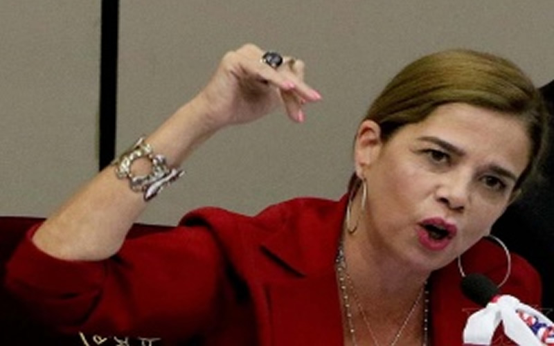 Furia: Honorable senadora agrede verbalmente a periodista