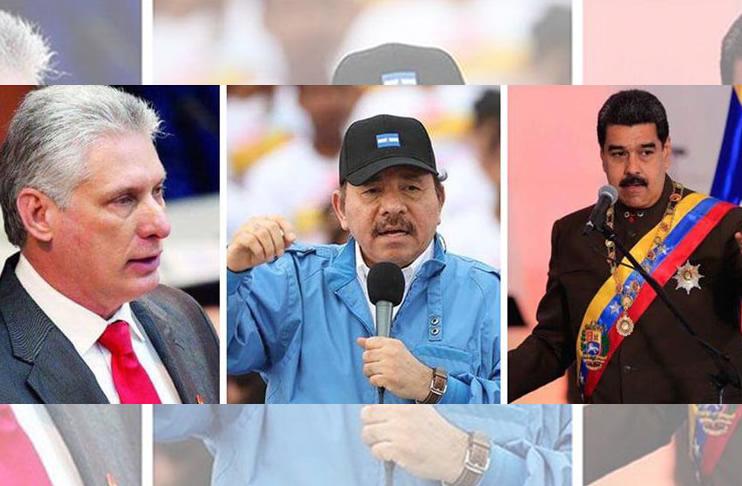 Resultado de imagen para nicaragua cuba venezuela